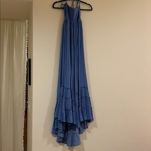 Free people blue maxi dress